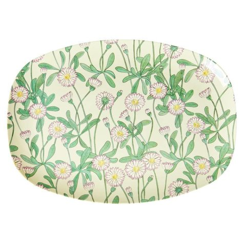 Rice melamine bord bloemen Daisy print