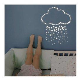Mimi'lou Mim'ilou lichtgevende muursticker stippen