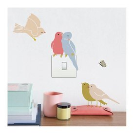 Mimi'lou Mimilou mini muurstickers vogels Birds on Light