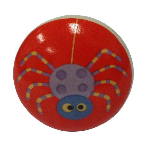 La Finesse deurknop spin rood