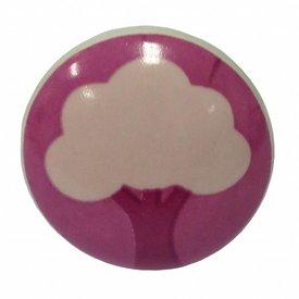 La Finesse La Finesse deurknop boom roze
