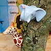The Zoo kapstokhaakje giraffe Tropical