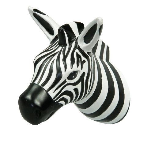The Zoo kapstokhaakje zebra Tropical