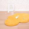 Lilipinso kindervloerkleed wolk mosterd geel