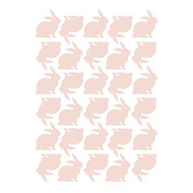 Lilipinso Lilipinso muursticker konijntje roze blossom pink