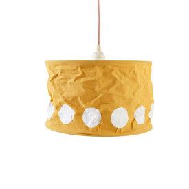 Kidsconcept Kidsconcept kinderlamp stippen geel