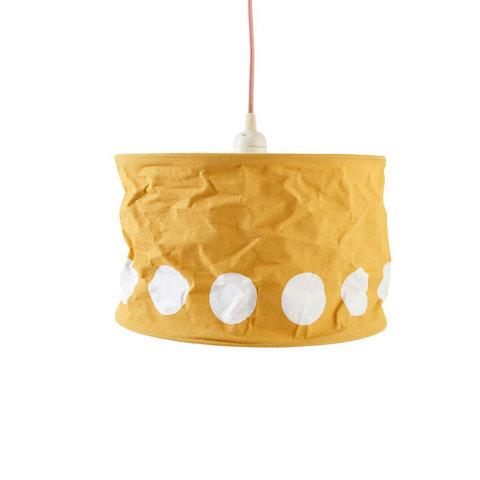 Kidsconcept kinderlamp stippen geel