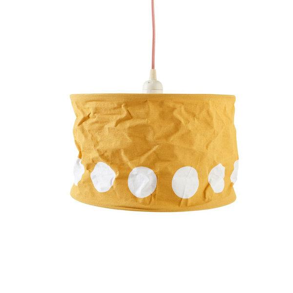 Kidsconcept Kidsconcept hanglamp kinderkamer stippen oker geel