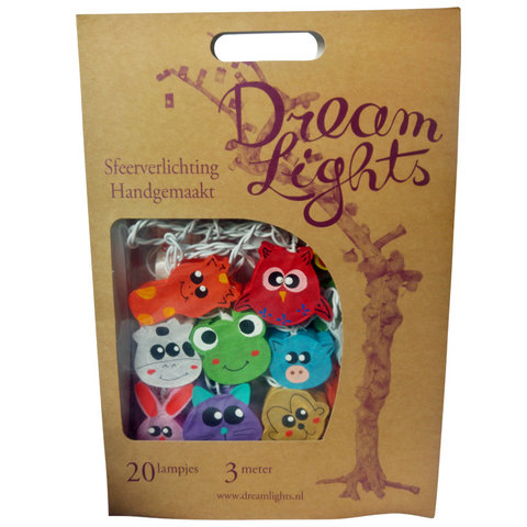 Dreamlights lichtslinger dieren