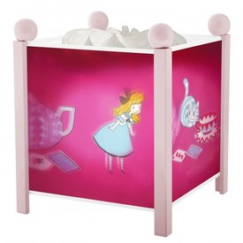 Trousselier Trousselier magische lamp Alice roze