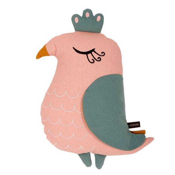 Roommate Roommate kussen kinderkamer vogel roze
