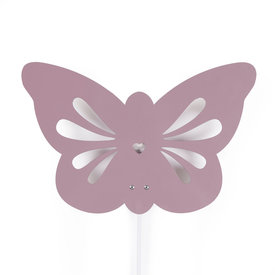 Roommate Roommate wandlamp kinderkamer vlinder paars