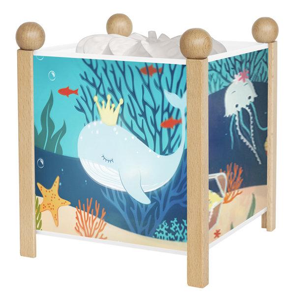 Trousselier Trousselier magische lamp oceaan hout naturel