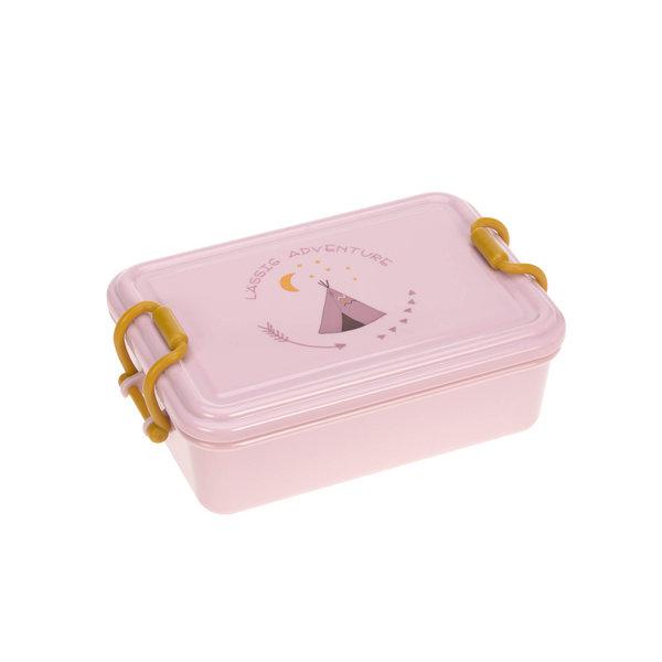 Lässig Lässig lunchtrommel tipi roze