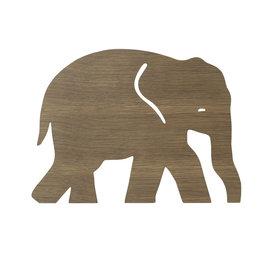 Ferm Living Kids Ferm Living wandlamp kinderkamer olifant