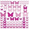 Roommates muursticker vlinders Flutter butterflies