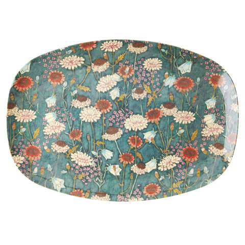 Rice melamine bord  bloemen Fall Flowers