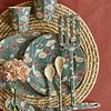 Rice melamine bord bloemen Fall Flower print