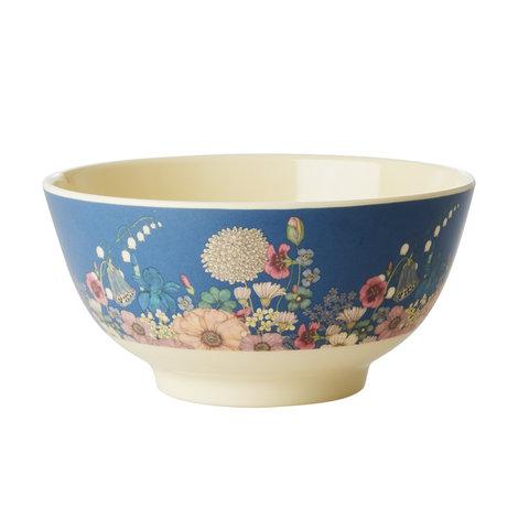 Rice melamine schaal bloemen Flower Collage