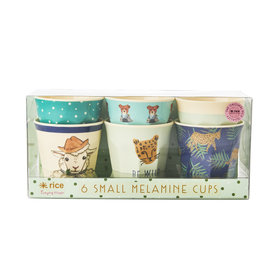 rice Denmark Rice melamine bekers Farm Animal prints groen