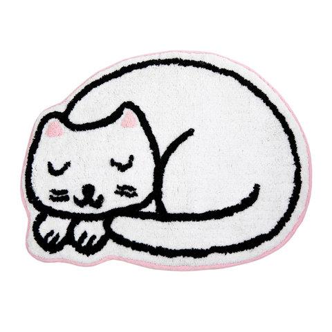Kindervloerkleed mini poes Nap Time
