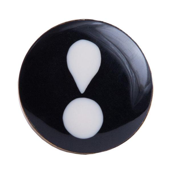 Bombay  Duck Bombay Duck deurknop uitroepteken zwart