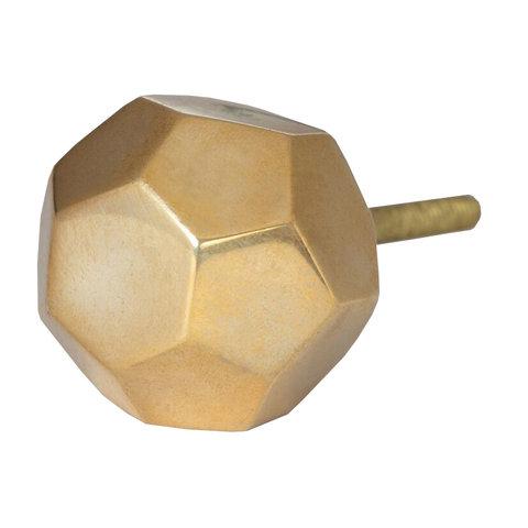 Bombay Duck deurknop  goud octagonal