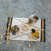 Tapis Petit vloerkleed kinderkamer Etnic oker geel