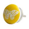 Bombay Duck deurknop vlinder geel