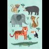Petit Monkey kinderposter 50 x 70 wilde dieren