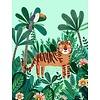 Petit Monkey kinderposter 50 x 70 tijger