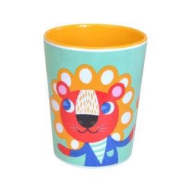 Petit Monkey Petit Monkey melamine leeuw & tijger mint