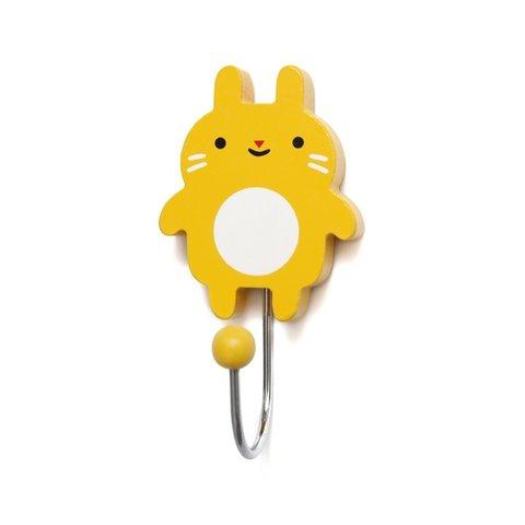 Petit Monkey kapstokje konijn geel