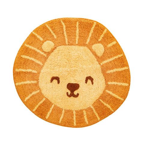 Kindervloerkleed mini leeuw