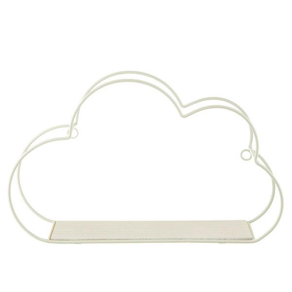 Sass & Belle Sass & Belle wandplankje wolk