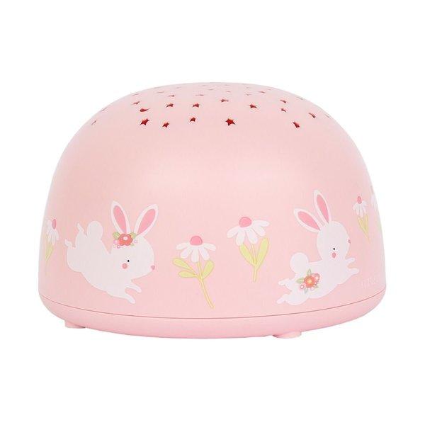 A Lovely Little Company A Lovely Little Company projector nachtlampje konijn