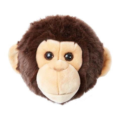 Wild & Soft dierenkop aap