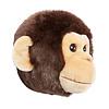 Wild & Soft beestenkop aap
