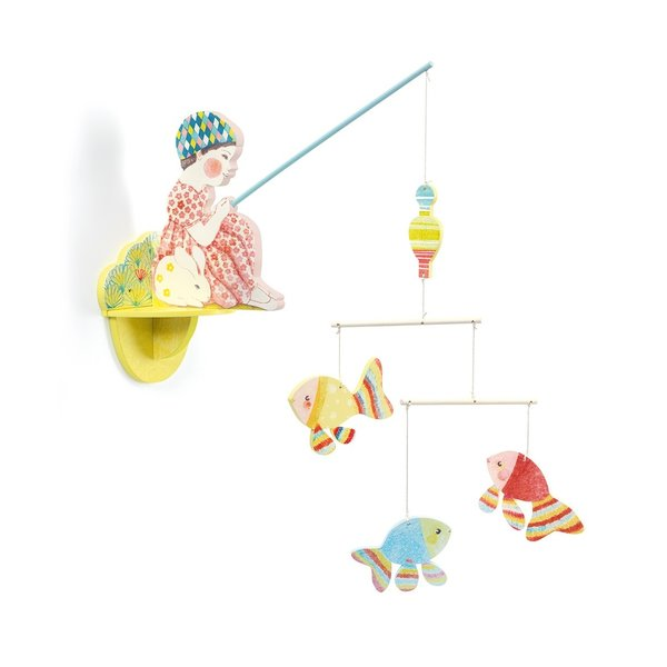 Djeco Djeco wandmobiel vissersmeisje