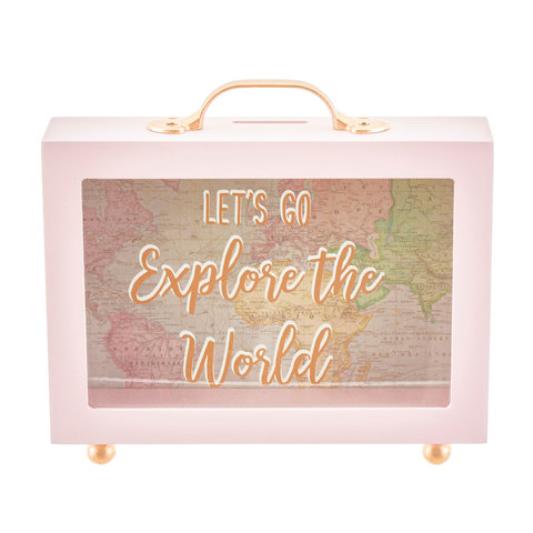 Sass & Belle spaarpot World Explorer