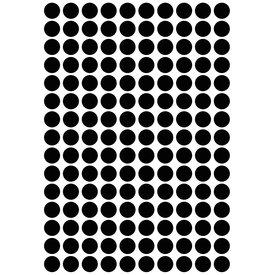 Lilipinso Lilipinso muurstickers stippen zwart