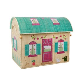 rice Denmark Rice speelgoedmand  huis Country House extra groot