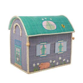 rice Denmark Rice speelgoedmand  huis Country House middel groot