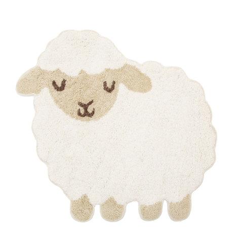 Kindervloerkleed mini schaap
