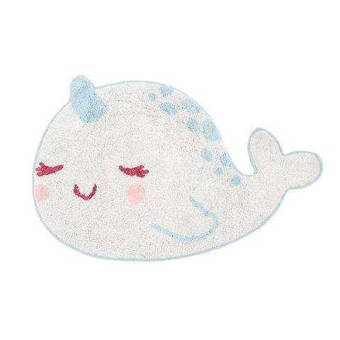 Kindervloerkleed walvis Alma