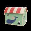 Rice speelgoedmand huis dieren Animal Print groot