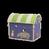 Rice speelgoedmand huis dieren Animal Print middelgroot