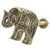 Clayre & Eef deurknopje olifant goud