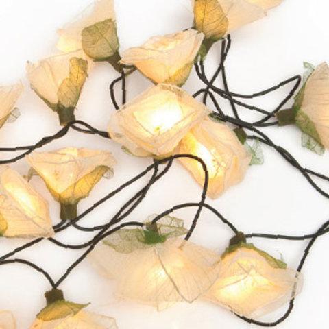 Dreamlights lichtslinger rozen wit
