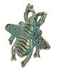 Clayre & Eef deurknopje bij groen/goud